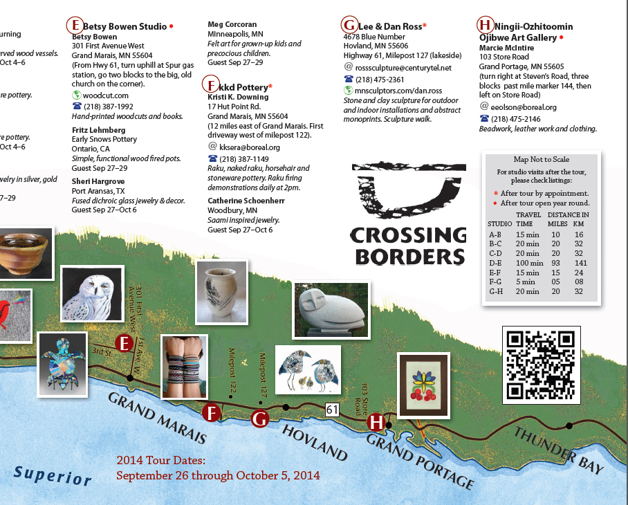 Crossing Borders Studio Tour
