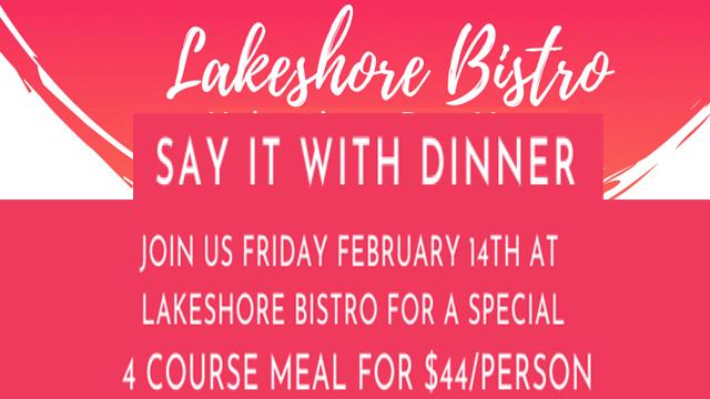 Crystal Beach Valentines Dinner  2020