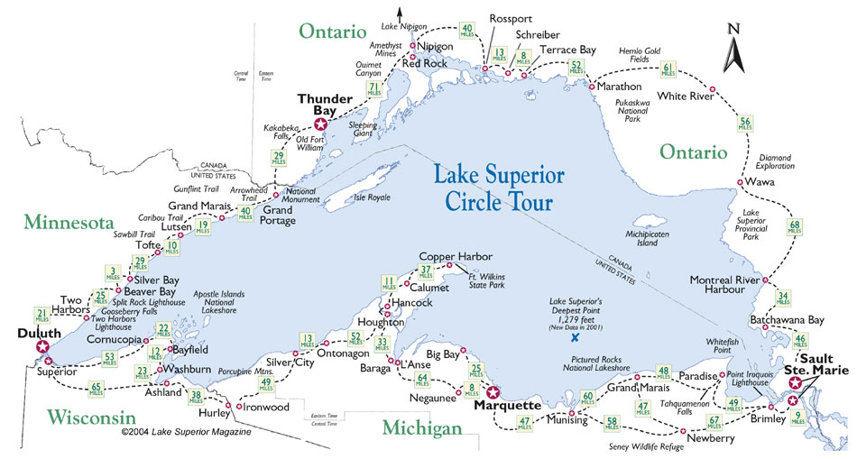 Travel Lake Superior Circle Tour