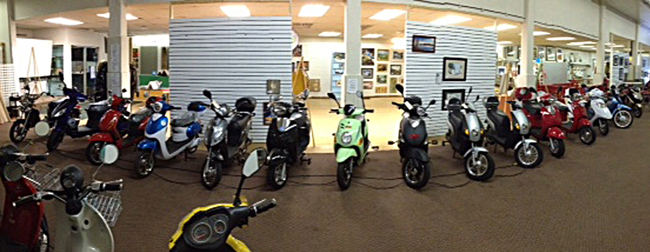 GoGreen Ebikes Showroom