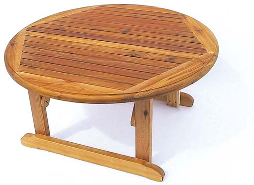 Pine Folding Coffee Table