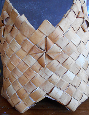 Basket Weaving by Julie Kean