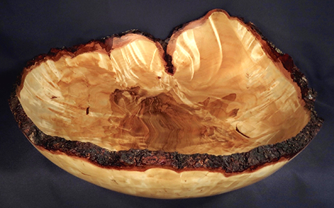 Wood Bowl by Lou Pignolet