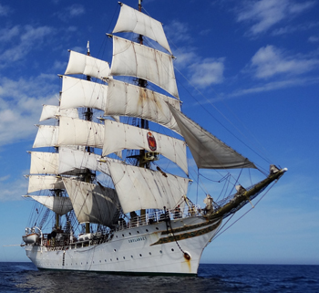Norwegian Tall Ship Sorlandet  Travel Lake Superior