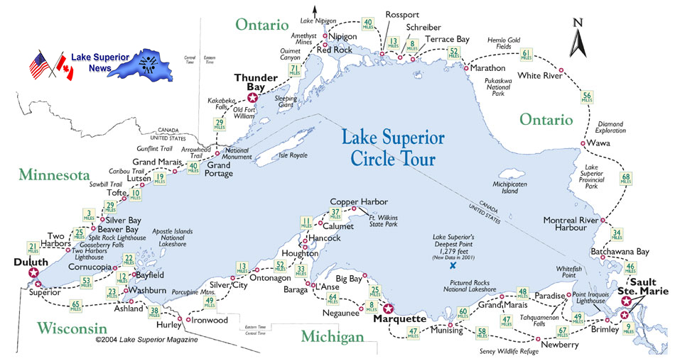 Canadian Lighthouses of Lake Superior ~ Travel Lake Superior